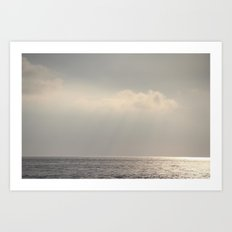 silent. Art Print