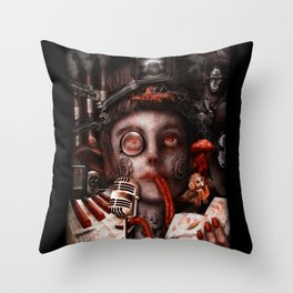 Inspiration Overload  Throw Pillow