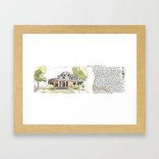 Monticello Framed Art Print