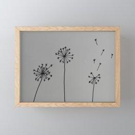 Dandelion I Framed Mini Art Print
