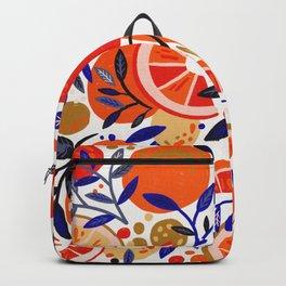 Fresh Citrus Mesh – White Backpack