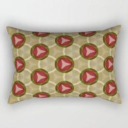 Radioactive Space Alliance design Rectangular Pillow