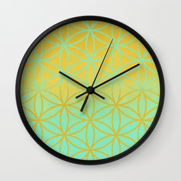 Meditation space Wall Clock