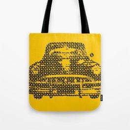 SKETCH OF OLD CAR Tote Bag
