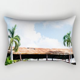 Rusted Roof Rectangular Pillow
