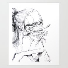 6 pieces_4 Art Print