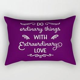 Extraordinary Love Rectangular Pillow