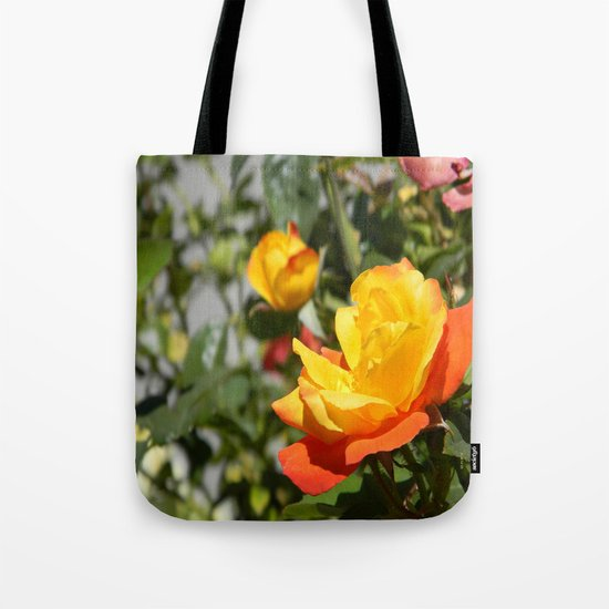 Blooming Gold... Tote Bag