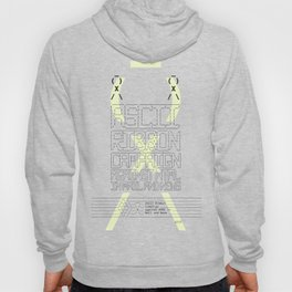 ASCII Ribbon Campaign against HTML in Mail and News – White Hoody