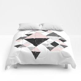 Abstract Geometri Comforters