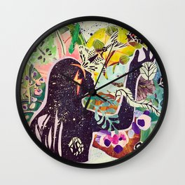 Struck Wall Clock