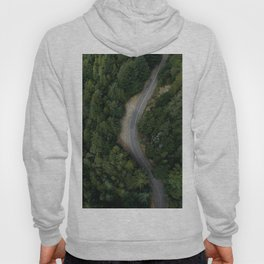 NATURE - PHOTOGRAPHY - FOREST - HIGHWAY - ROAD - TRIP - TREES Hoody