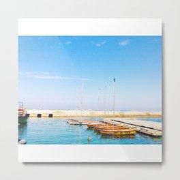 Yafo Port Metal Print