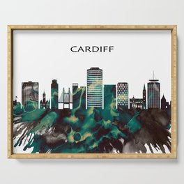 Cardiff Skyline Serving Tray