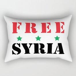 FREE SYRIA Rectangular Pillow