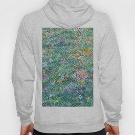 colorful flower filed Hoody
