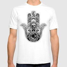 Hamsa Hand French Bulldog T-shirt