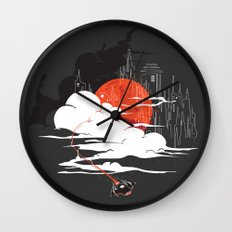 Uncharted Voyage Wall Clock