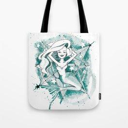 Mermaid Sketch Tote Bag