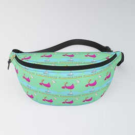 Flamingos on ice Fanny Pack