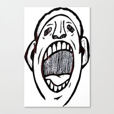 Shut It Canvas Print
