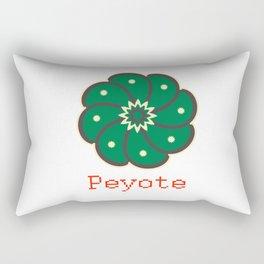 Peyote Cactus Rectangular Pillow