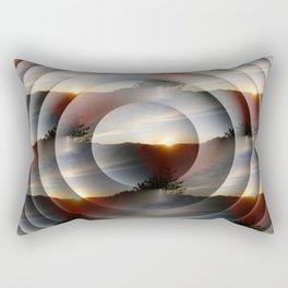 Layers of Sunsets... Rectangular Pillow