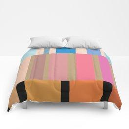 Many stripes Comforters