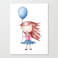 Balloon Love - Stay Grounded Canvas Print