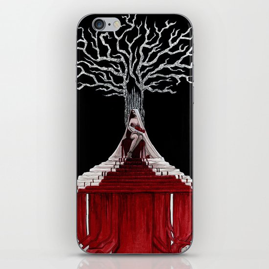 The Fruitful Virgin iPhone & iPod Skin