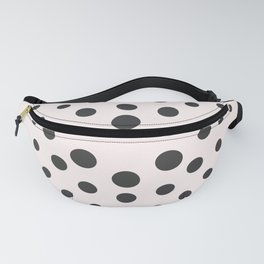MidCentury Modern Bubblegum Spiral Dots Fanny Pack