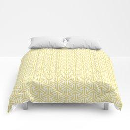 Yellow Stitches Comforters