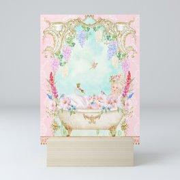 Marie Antoinette Bath  Mini Art Print