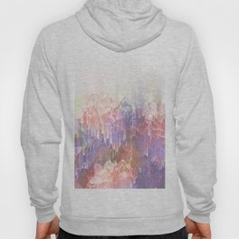Frozen Magical Nature - Peach and Ultra-Violet Hoody
