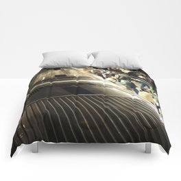 Stand Clear Closing Doors Comforters