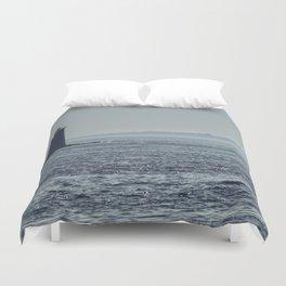 Whaleback Light Duvet Cover