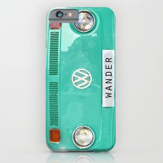 Wander wolkswagen. Summer dreams. Green iPhone & iPod Case