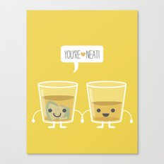 You're Neat! Canvas Print