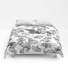 ginko biloba pattern Comforters