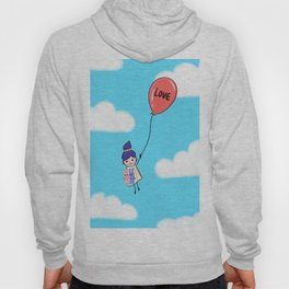 Love is Up Above Hoody
