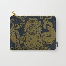 Mark V Octopus - gold Carry-All Pouch