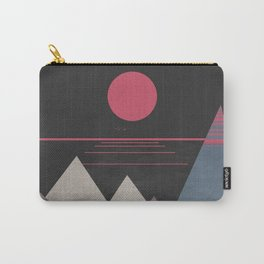 Minimal Sunset 10 Carry-All Pouch