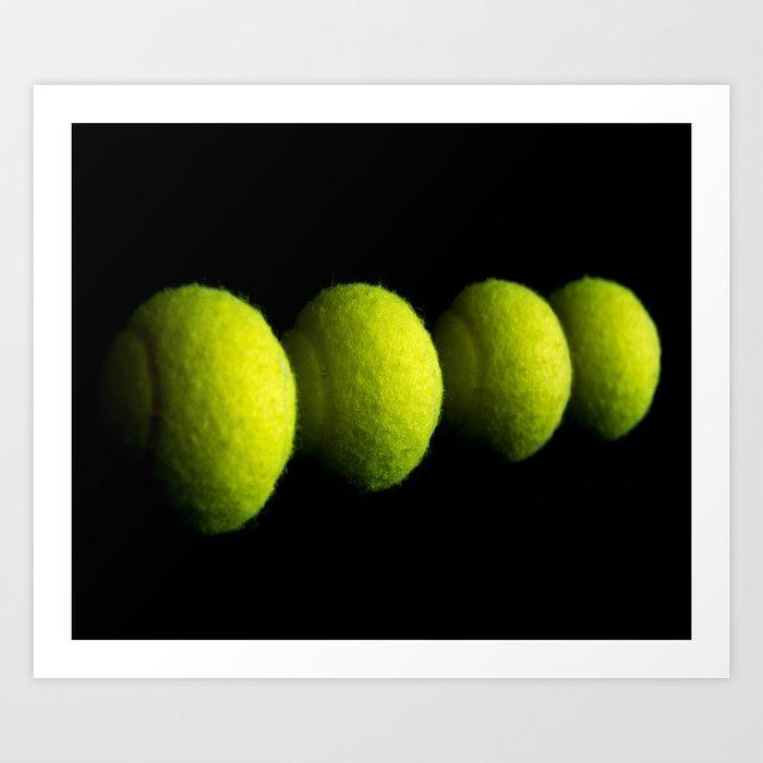 Tennis Balls Kunstdrucke