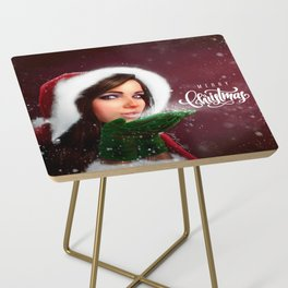 Lady Christmas Side Table