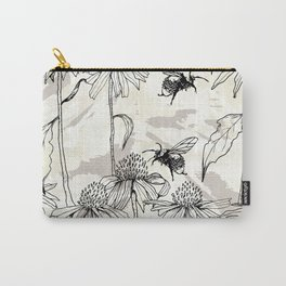 Buzzing bees - neutral Carry-All Pouch