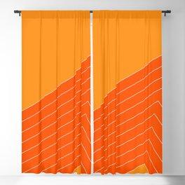 Orange Crush Range Blackout Curtain