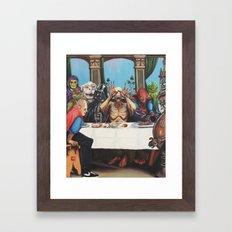 The Best Supper Framed Art Print