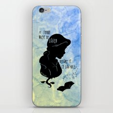 A Thing Must Be Loved iPhone & iPod Skin