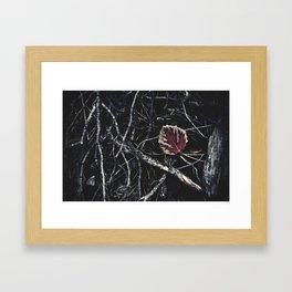 Dark Fall Framed Art Print