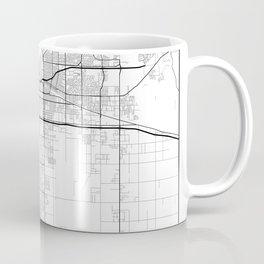 """Minimal City Maps - Map Of Bakersfield, California, United States Coffee Mug"